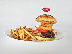 Diner-mite burger