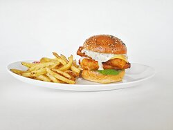 Fish Strip Burger