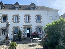 Hôtel de charme dans une bâtisse typiquement bretonne