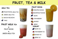 Fruit and Bublle Tea