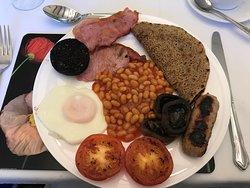 Excellent breakfast, excellent service