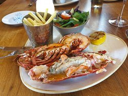 Grilled Lobster absolutely delicious
