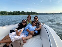 Boating in LI SOUND