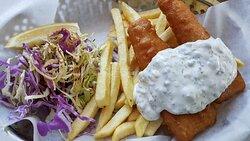 Fantastisk fish and chips