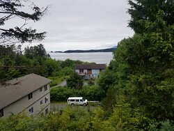 Falcon guest House view - from dining room