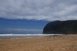 Playa de Laga con Ogoño al fondo
