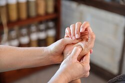 All facials and manicure come with a hand  and forearm massage.