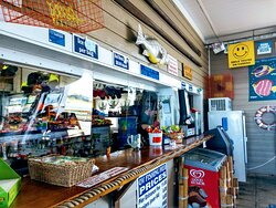 Snack bar on the Pier