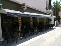 OUTSIDE VIEW, SUN PROTECTED, YOU CAN REST, SIT AND ENJOY YOUR FOOD AND DRINKS!!!