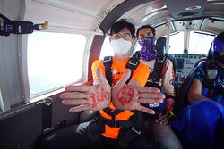 Best skydive in Thailand