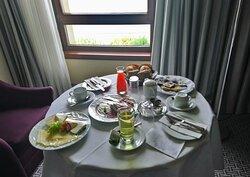 Frühstück auf´s  Zimmer