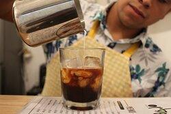 iced coffee / café frío