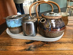 Livefast Lifestyle Cafe- looked great but the teapot pours badly