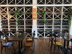 Hundreds of wines available for you to choose from.