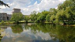 Москва, Лефортово: Лефортовский парк... Июль 2020 года