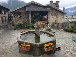 Usseaux - La fontana (To)