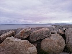 View of Salthill Promenade. Just outside hotel.