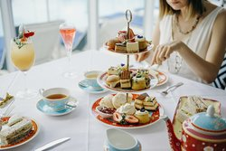 Enjoy a selection of High Tea classics, savoury pastries and mouth-watering house-made sweet treats. Savour Ronnefeldt Tea and Australian sparkling wine while relaxing against a backdrop of sparking blue water, golden sand and brilliant blue sky.