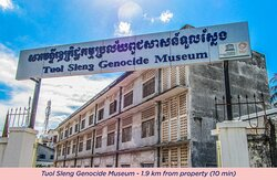 Surrounding. Toul Sleng Genocide Museum (formerly S21 Prison)