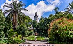Surrounding. Wat Phnom