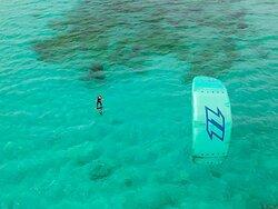 Hydrofoil Kite Course in Sardinia