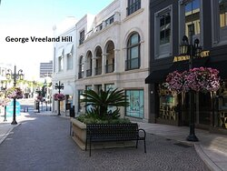 Two Rodeo Drive in Beverly Hills.  Photo by, George Vreeland Hill