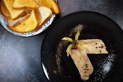 Foie gras maison mi cuit