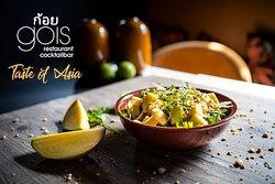 Thai-Mango Salat, fresh and tasteful