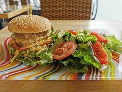 Cheeseburger maison