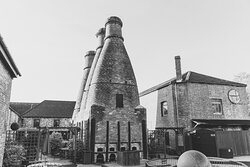 House of marbles has 3 kilns which are ancient statutory monuments - a piece of the history of the site where pottery used to be made.
