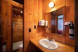 Sloans cabin bathroom