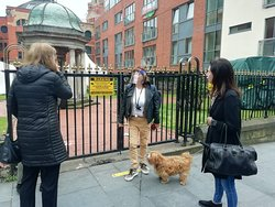Even a guests dog had a great time in Liverpool