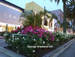 Rodeo Drive in Beverly Hills.  Photo by, George Vreeland Hill