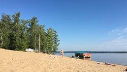 Пляж Новокуйбышевска