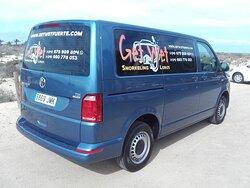 The Get Wet minibus