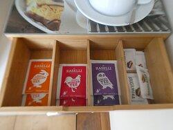 tea making facilities in Junior Suite