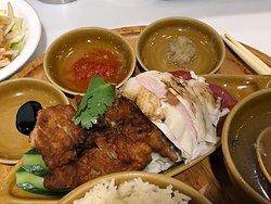 海南鶏飯(ハーフ&ハーフ)