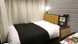 19.09【APAホテル広島駅前大橋】ベッド