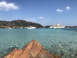 Una delle più belle spiagge  della costa smeralda