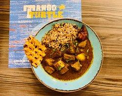 Curry Lamb pot