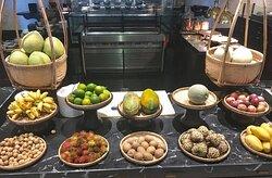 Fresh local fruits
