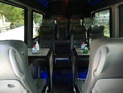 BOOKCRETETAXI.COM MINIBUS SPRINTER VIP 11 SEATS