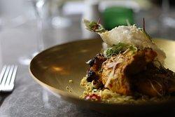 Tandoori laksa chicken