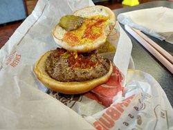 $1.00 cheeseburger