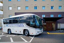 当館では、無料シャトルバスの他に個別の団体グループ様の送迎にも対応致します。