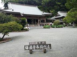 宗像大社近くの山にある由緒ある寺院