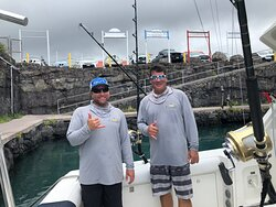 These boys gave us an awesome day on the water!