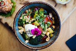 Our fabulous starter Umami Broccoli