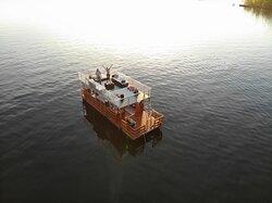 Partyboot Beluga auf der Havel