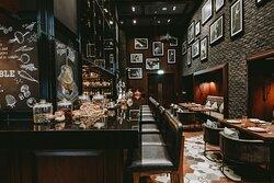 Entrance Floor Bar and Seating Arrangements